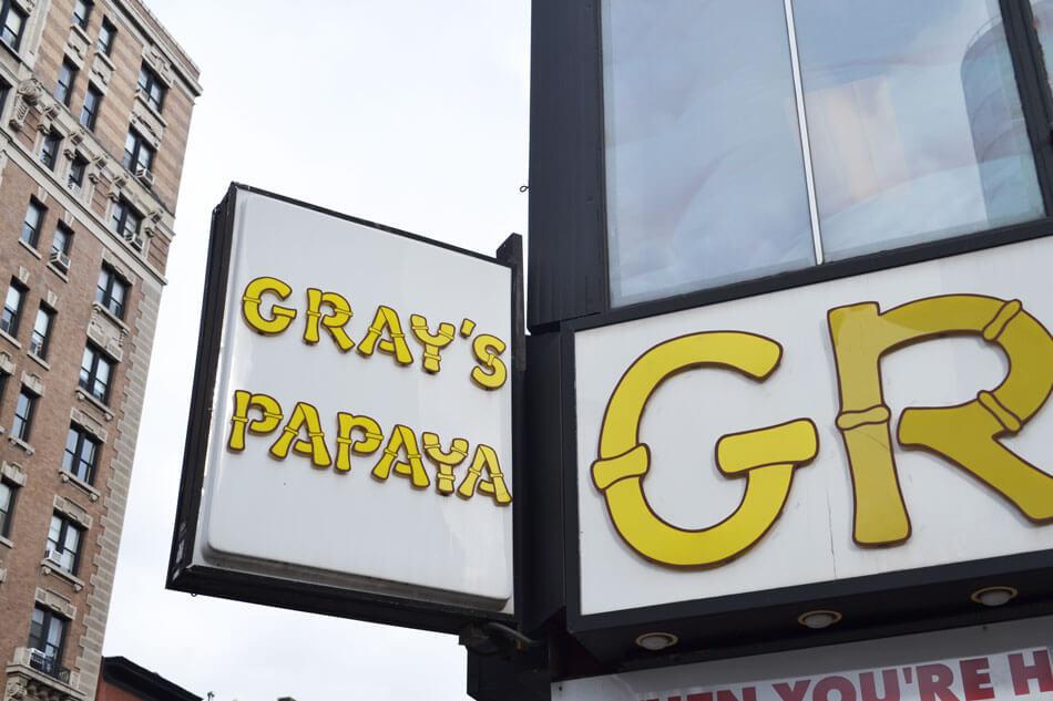 Gray's Papaya Upper West Side