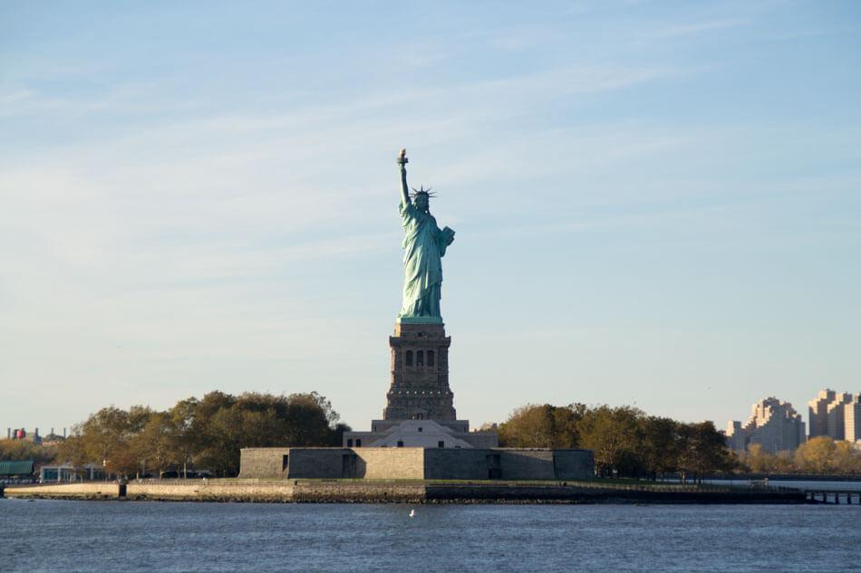 ferry staten island estatua de la libertad