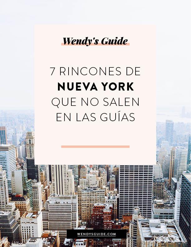 7 rincones de Nueva York que no salen en las guías