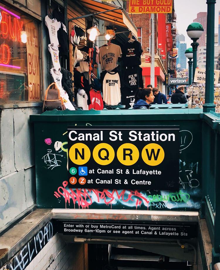 indicaciones metro nueva york