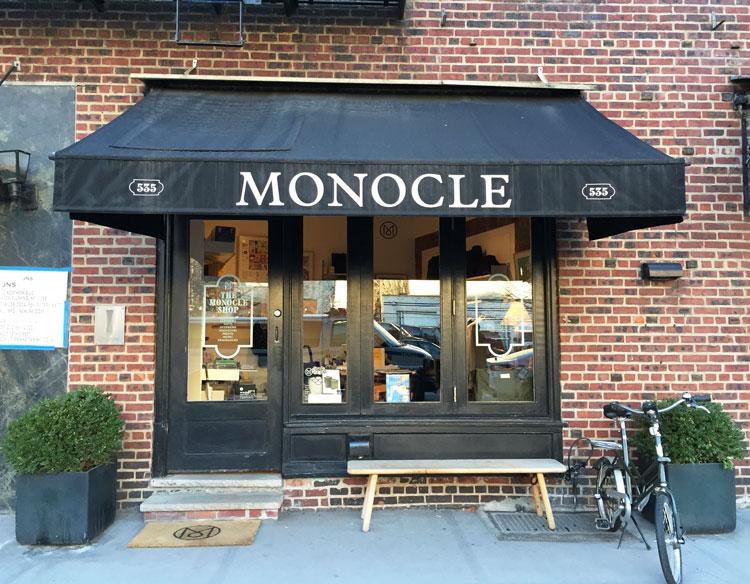 monocle shop nueva york