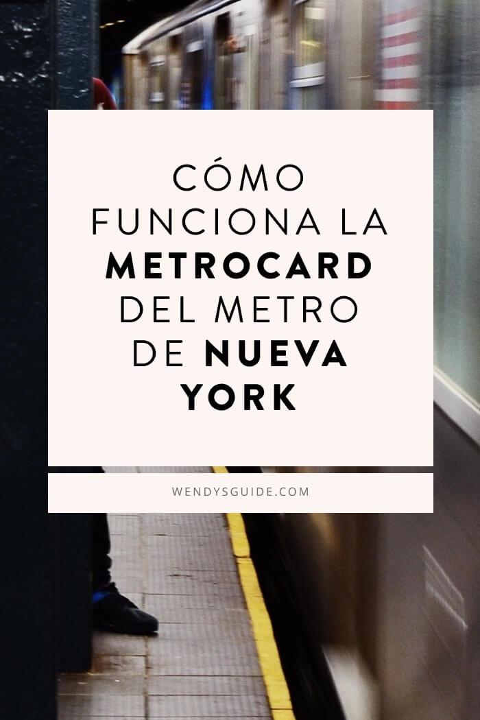 Cómo funciona la metrocard de Nueva York