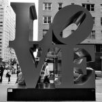 Esculturas Love y Hope en Nueva York