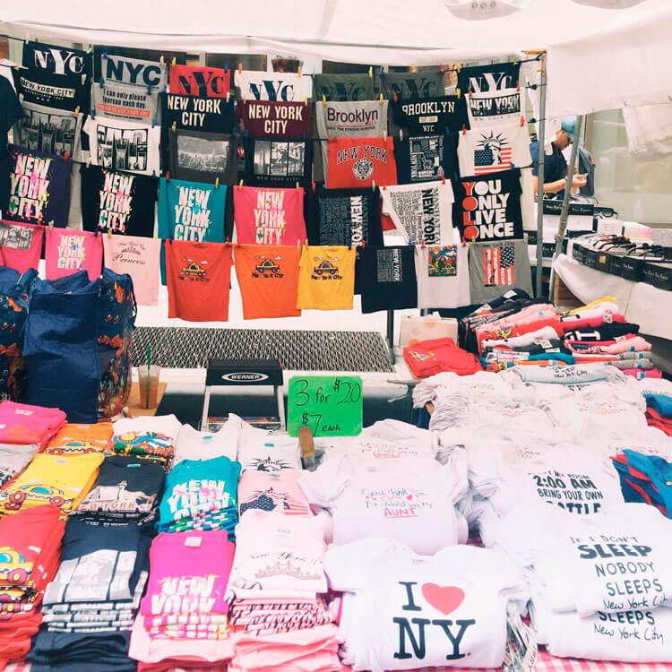 comprar souvenirs baratos en nueva york
