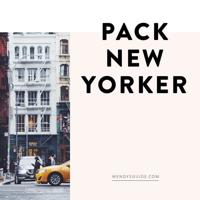pack new yorker