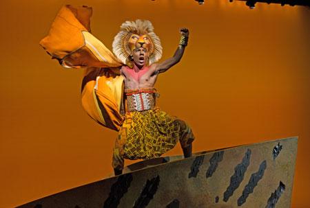 Musical El Rey León Broadway Nueva York
