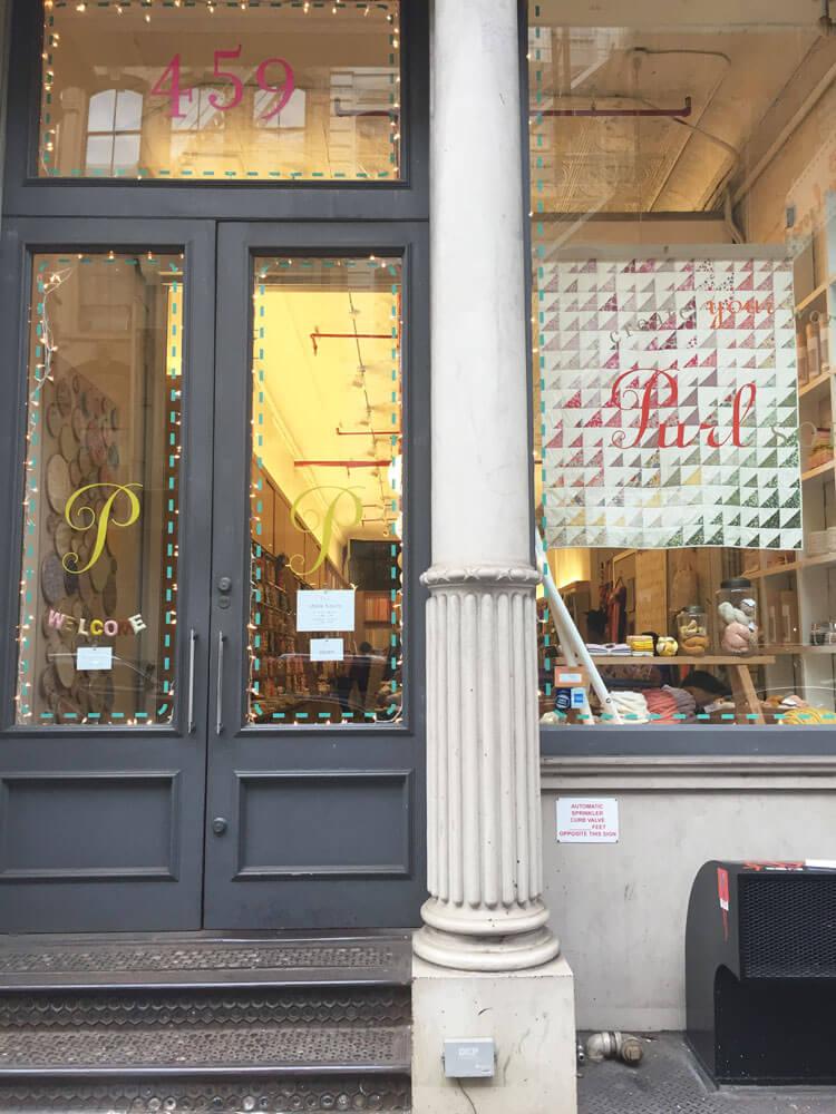 tienda de lanas en nueva york