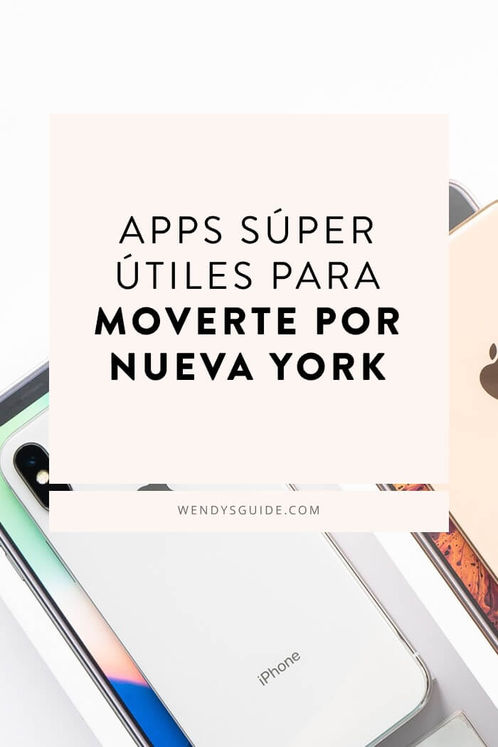 apps para moverte por Nueva York