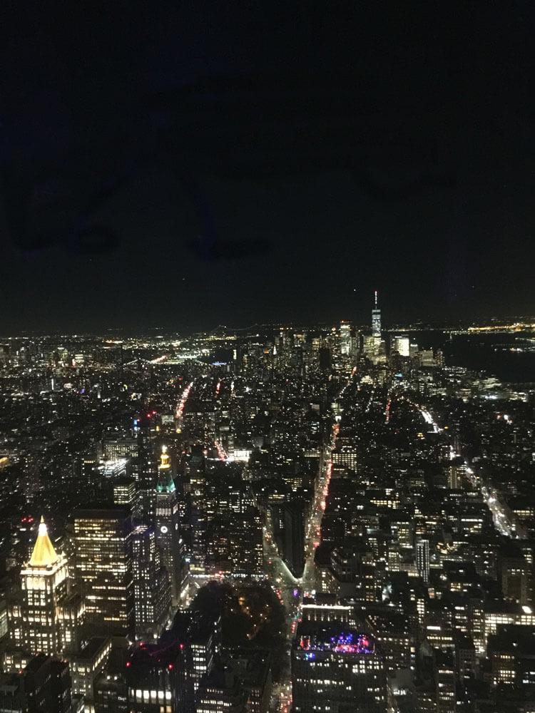 Vistas desde el piso 102 del Empire State