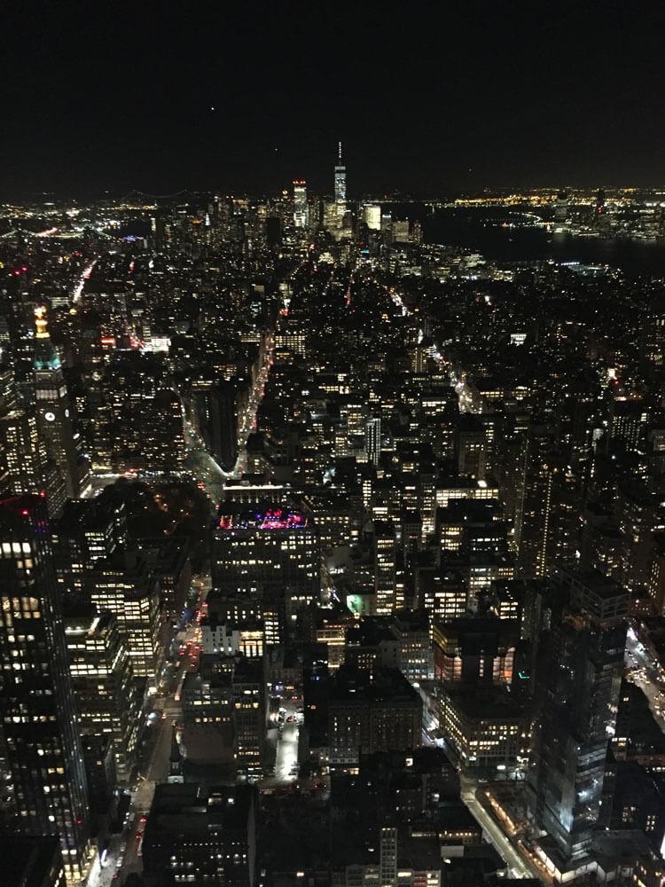 Vistas desde el piso 86 del Empire State