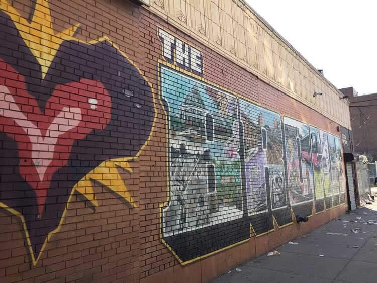 tour contrastes grafiti en el Bronx