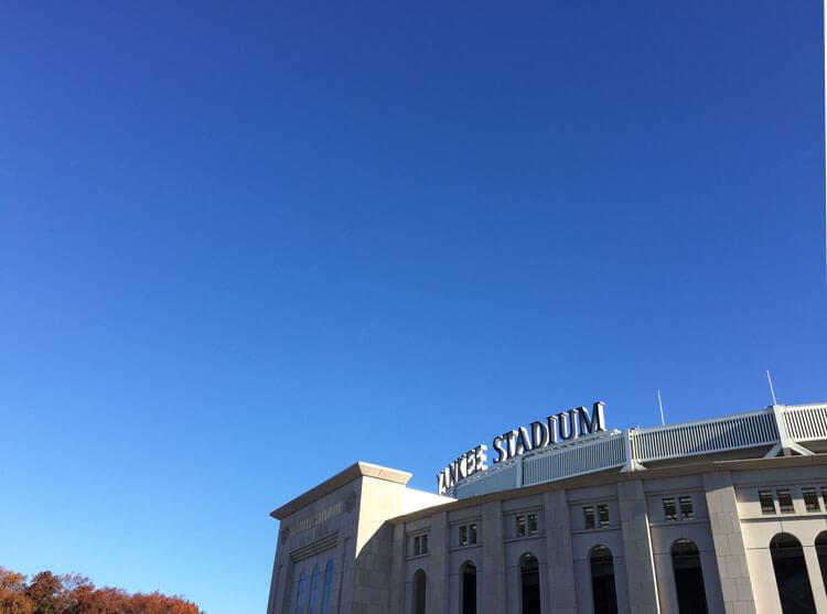 vista del Yankee Stadium durante el tour contrastes