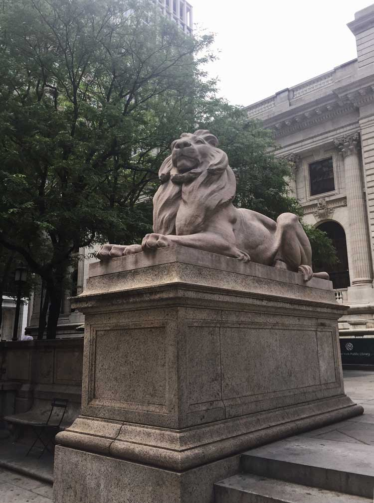 León Biblioteca Pública de Nueva York