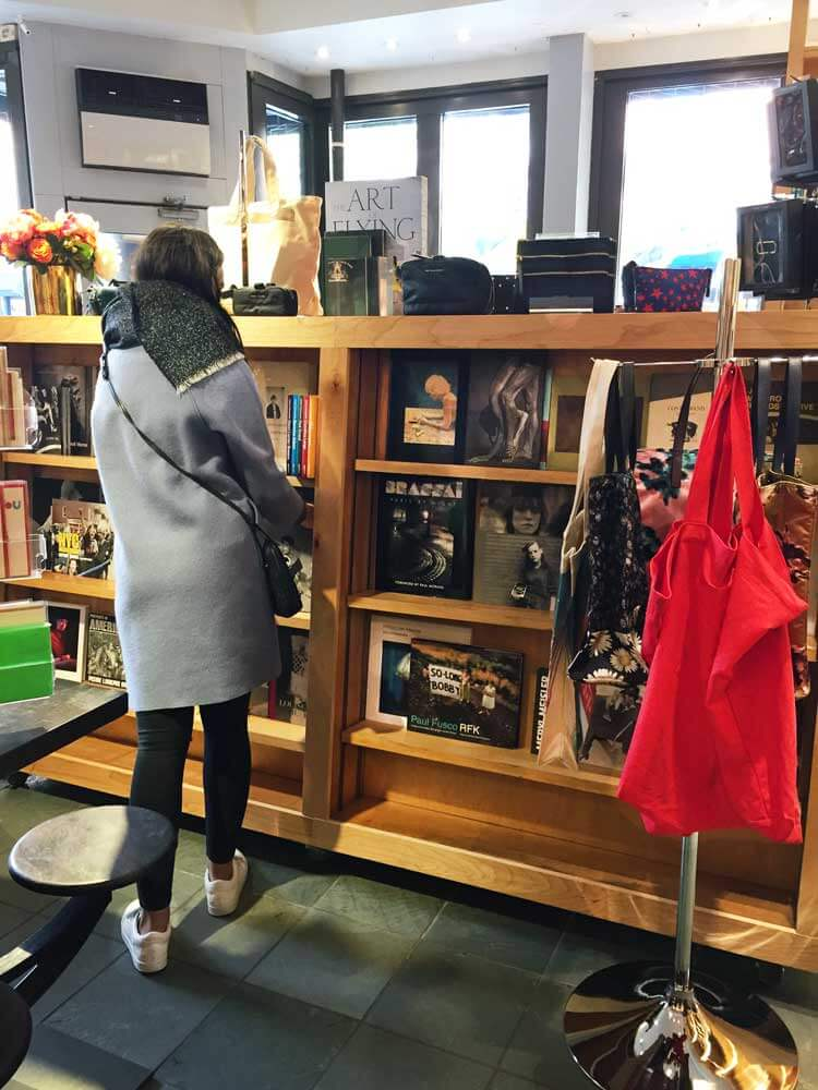 Una de las mejores librerías de Nueva York. Pertenece a Marc Jacobs.