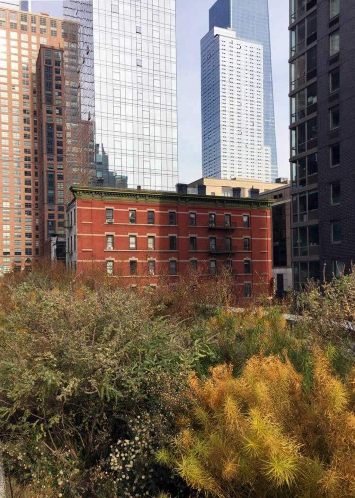 Vistas de Chelsea desde la High Line