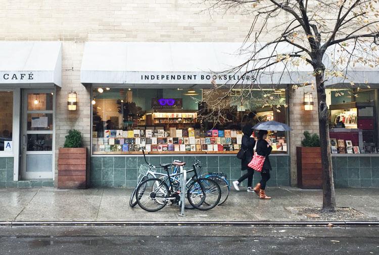 McNally Jackson librería en Nueva York indie