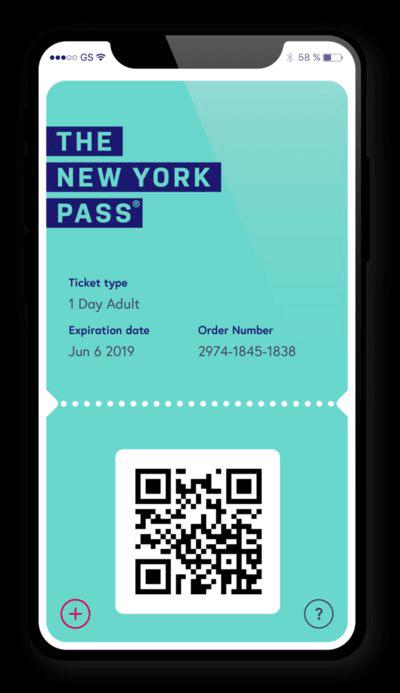 New York Pass captura movil