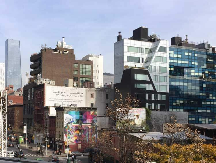 Vistas murales Kobra en Chelsea