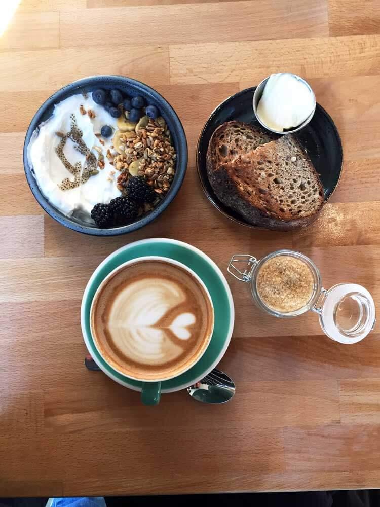Café en Nueva York