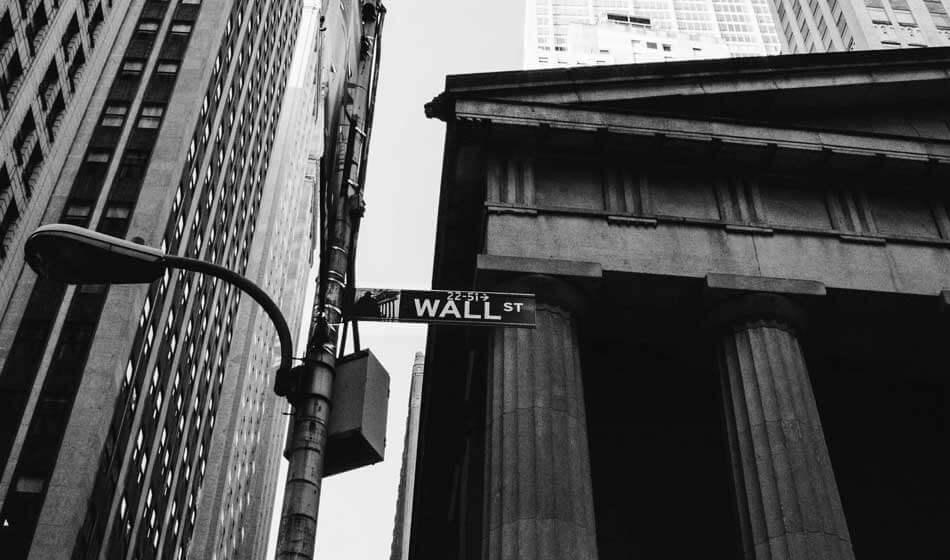 Distrito Financiero Nueva York Wall Street