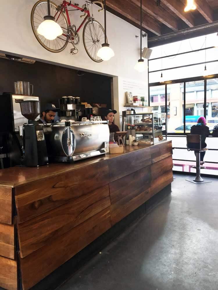 Gasoline Alley Cafeterías en Nueva York con café de especialidad